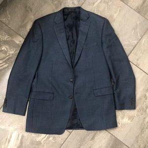 Ralph Lauren houndstooth black and blue blazer size 42L